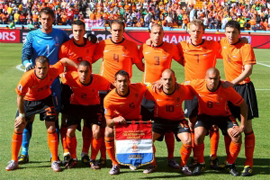 Netherlands plays the Round of 16 in the South Africa world cup 2010, called also knockout stage where the national teams play a standard single elimination game, there are no ties during the match and after 90 minutes if ends draw there are two extra times of 15 minutes and if draw to the penalty kicks to know the winner of the round of 16 and go to the quarter of final
