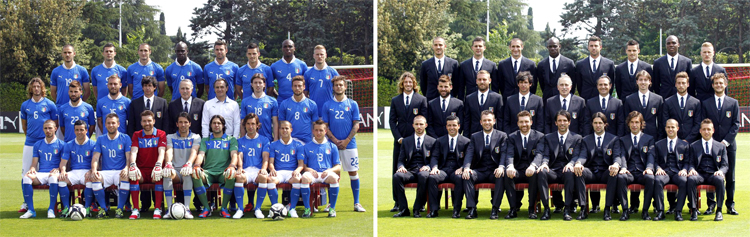 Italian football soccer national team has as headquarter Coverciano in Florence in the same FIGC, AIAC and Settore tecnico FIGC headquarter