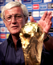 Marcello Lippi team manager and coach of the Italian National team is member of our Football soccer school, Italian football soccer school to the world thanks to WBN and AIAC - the Italian football soccer association of coaches - the Italian football soccer school offers to the international players and teams the World Champions technical and tactical training to the USA soccer teams, Canada soccer players, UAE soccer league, Saudi Arabia teams, Australia teams and soccer players. We offer also customized training for soccer lovers as begineers camps, young soccer camps, girls football soccer training and professional Italian soccer Coaches for your team, our Italian soccer school offers the most prestige and winner Football Soccer coach camps and training in the world ready to coach in your country and become a Champion in your league