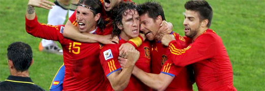 Spain beats Germany 1-0 and goes to the Final World Cup