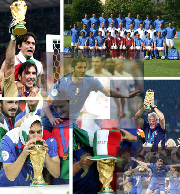 ITALY The FIFA World Champions In Germany 2006 Thanks To A Great Team Excelent